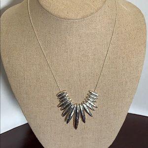 Gorjana Silver Tone  Long  Necklace $75🍒